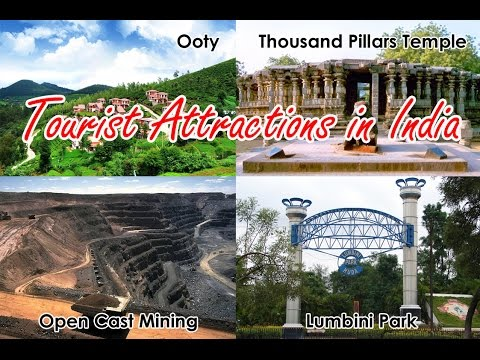 Tourist Attractions in India (Ooty, Warangal, Mancherial and Hyderabad city surroundings)