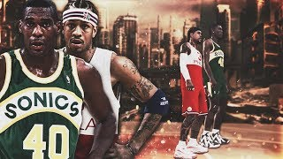 NBA Legends Shawn Kemp And Allen Iverson Team Up In NBA 2K19!