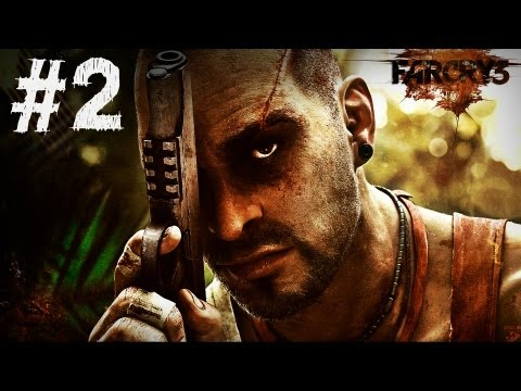 Far Cry 3 Gameplay Walkthrough Part 2 - Secure The Outpost - Mission 2