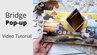 "Pop-up element ""Bridge""/tutorial - Pop-up элемент ""Мост""/видео мк"