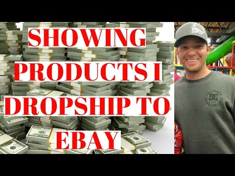 Dropshipping On Ebay From Aliexpress Showing Products I Use