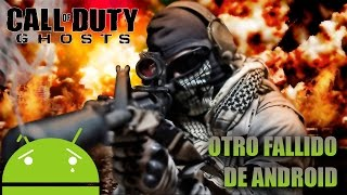 Call of Duty Ghosts - OTRO FALLITO DE ANDROID - (Xbox One Gameplay HD)