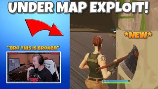 TFUE FINDS *NEW* UNDER MAP EXPLOIT! - Fortnite Funny Moments #19