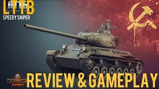 LTTB Review & Gameplay | Speedy Sniper | WoT - XBox One
