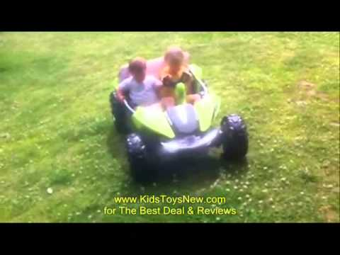 Power Wheels Dune Racer with Monster Traction Review