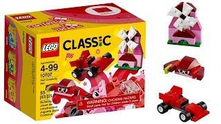 Lego classic 10707 Red (Windmill, crab, racing car)