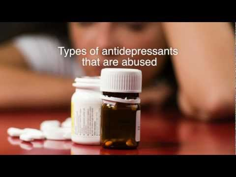 Types Of Anti-Depressants Abused