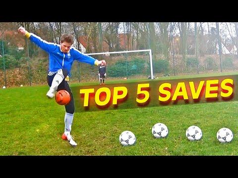 TOP 5 Best Goalkeeper Saves I WEEK #09 2014
