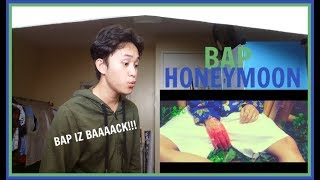 B.A.P - HONEYMOON MV REACTION