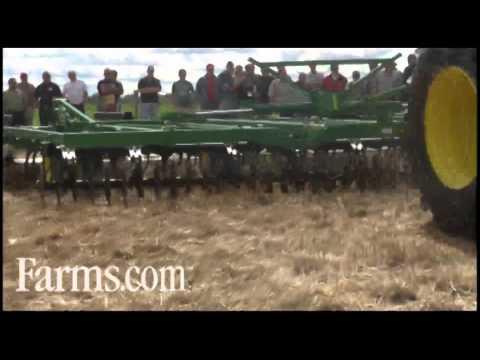 Farm Tillage Demonstrations:  Including Sunflower, John Deere and Case IH Equipment..