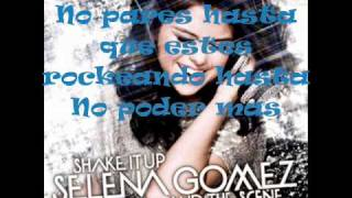 Selena Gomez - Shake it up {Traducida en español}