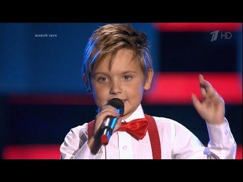 The Voice Kids Russia 2016. Maksim Churmanteev (Максим Чурмантеев) — «Эта музыка». Голос Дети 3
