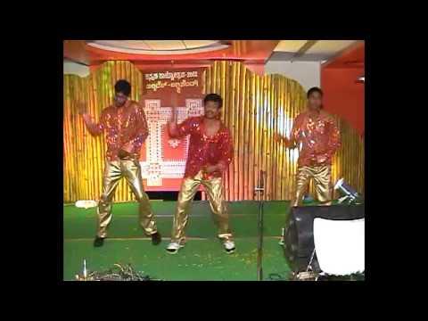 Dance - Kaanadante Mayavadanu - Kannada Rajyothsava 2012 - Shrigandha Kannada Balaga video