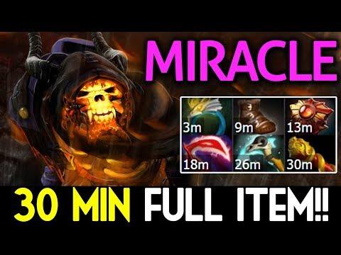 Miracle- Dota 2 [Clinkz] 30 Min - Full Item!!?