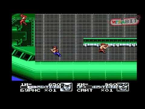 Стрим игры Contra Force (NES\денди) прохождение