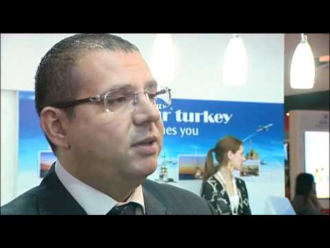Serdal Can, General Manager, Plazatur, Istanbul, Turkey @ ATM 2011