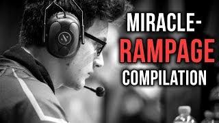Miracle- EPIC Rampage Gameplay Compilation - Dota 2