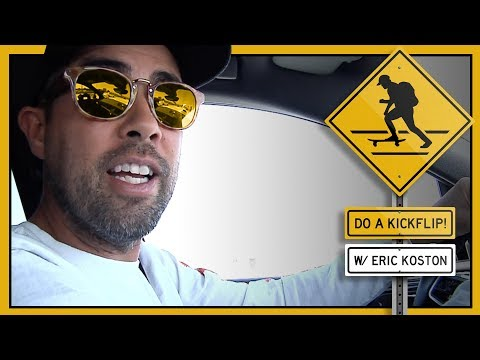 """Do A Kickflip!"" with Eric Koston"
