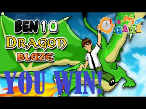 Ben 10 Dragon Blaze - Best Funny Game 2014 [ Ben 10 Games ] video