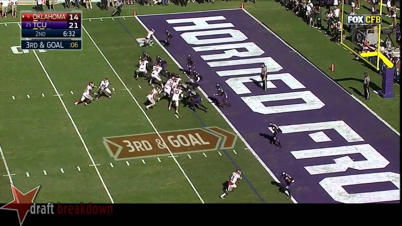 Chucky Hunter vs Oklahoma (2014)