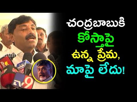 Kadapa YSRCP MLA Demands Water To Rayalaseema | YSRCP Ravindranath Reddy Press Meet | mana aksharam