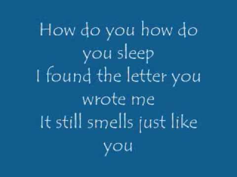 How Do You Sleep - Jesse McCartney (Lyrics)