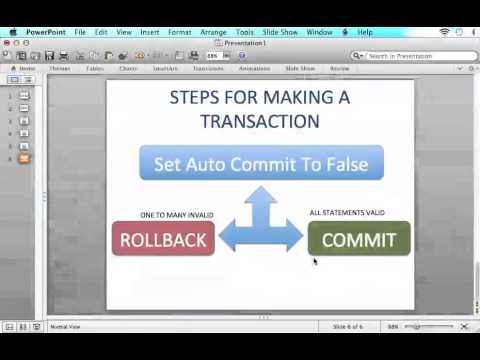 JDBC Tutorial - P12 - Transactions