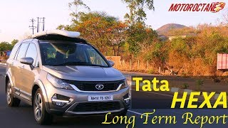 Tata Hexa long term report in Hindi | MotorOctane