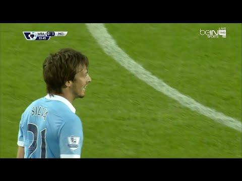 David Silva vs West Bromwich Albion (A) 2015-2016 EPL HD