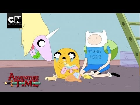 Jake The Dad | Adventure Time | Cartoon Network
