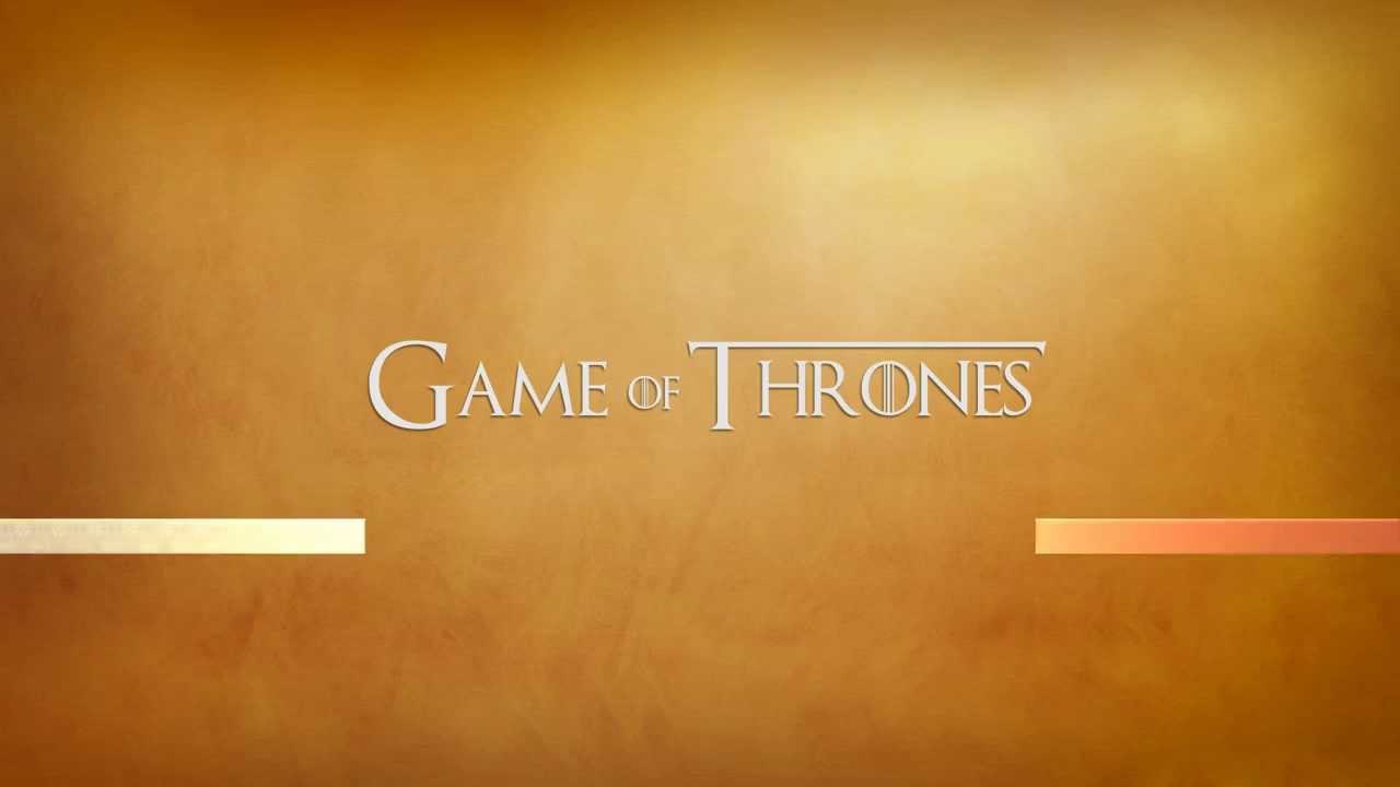 Menu Game of Thrones Menu Dvd Game of Thrones