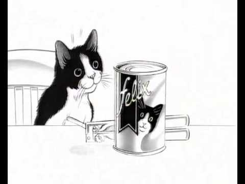 Felix The Cat Food Advert