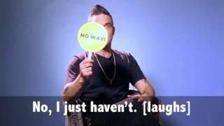 Robbie Williams - BuzzFeed UK Interview 2016