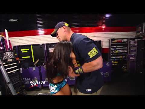 John Cena consoles an irate AJ Lee: Raw, Dec. 10, 2012 thumbnail