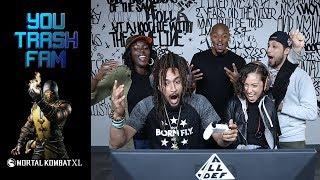 The SquADD Plays Mortal Kombat XL   You Trash Fam