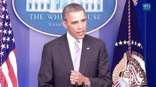 Obama Warns Putin Over Ukraine We Are More Advance  4/17/14  (Russia)