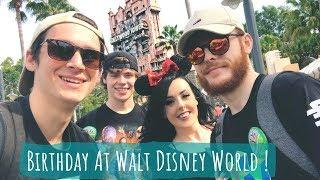 Birthday at Walt Disney World !! | Hollywood Studios & Epcot Flower & Garden festival