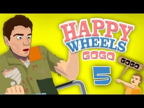 Happy Wheels - [GoGo] - Part.5 - [Slovensky]