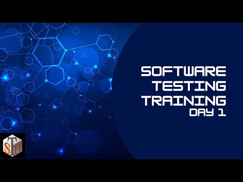Day 1 - Software Testing Training | QA Training | Software Testing Course