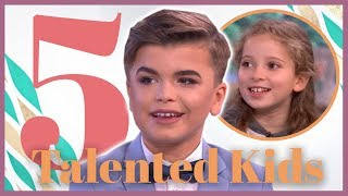 Top 5 Talented Kids | This Morning