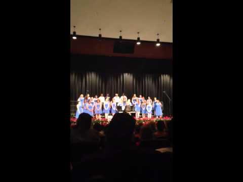 Cape Henlopen high school chorus concert 2014