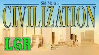 LGR - Sid Meier's Civilization - DOS PC Game Review