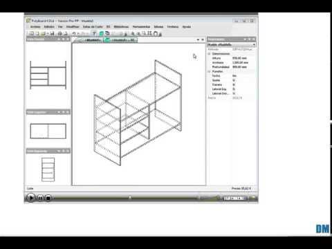 Programa para dise ar muebles cocinas closet armarios y for Programa para disenar muebles de cocina