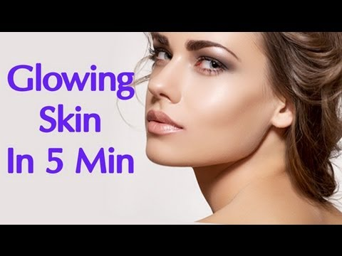 Glowing Skin in Minutes - Simple Home Remedies