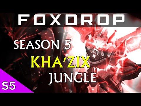 [Season 5] Kha'zix Jungle Commentary - Carry Hard in the New Jungle!