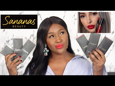 SANANAS BEAUTY : CRASH TEST / PEAU NOIRE