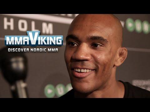 Nico Musoke UFC Sweden 3 Pre Fight Interview
