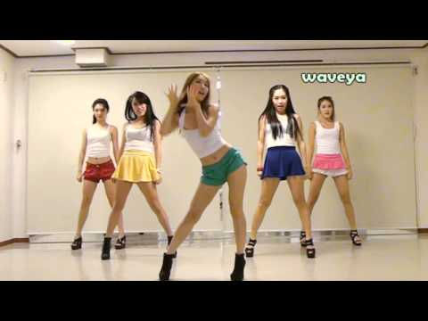 PSY�� - GANGNAM STYLE (�����) Waveya ���� Korean dance team
