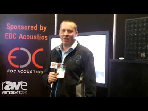 Integrate 2016: EDC Acoustics Features Its Plane Array Speakers