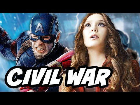 Captain America Civil War Scarlet Witch vs Vision Explained